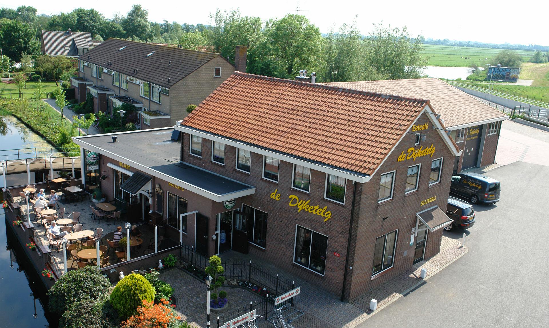 Eetcafe restaurant cafe-restaurant Dijketelg