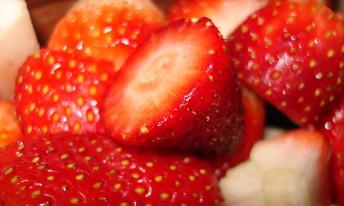 Aardbeien Eetcafe De Dijketelg
