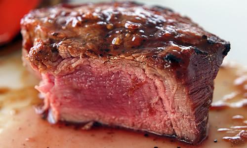 Winterkaart Steak Medium Rare